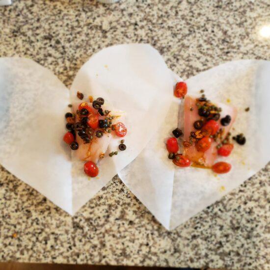 grouper en pappiotte hearts