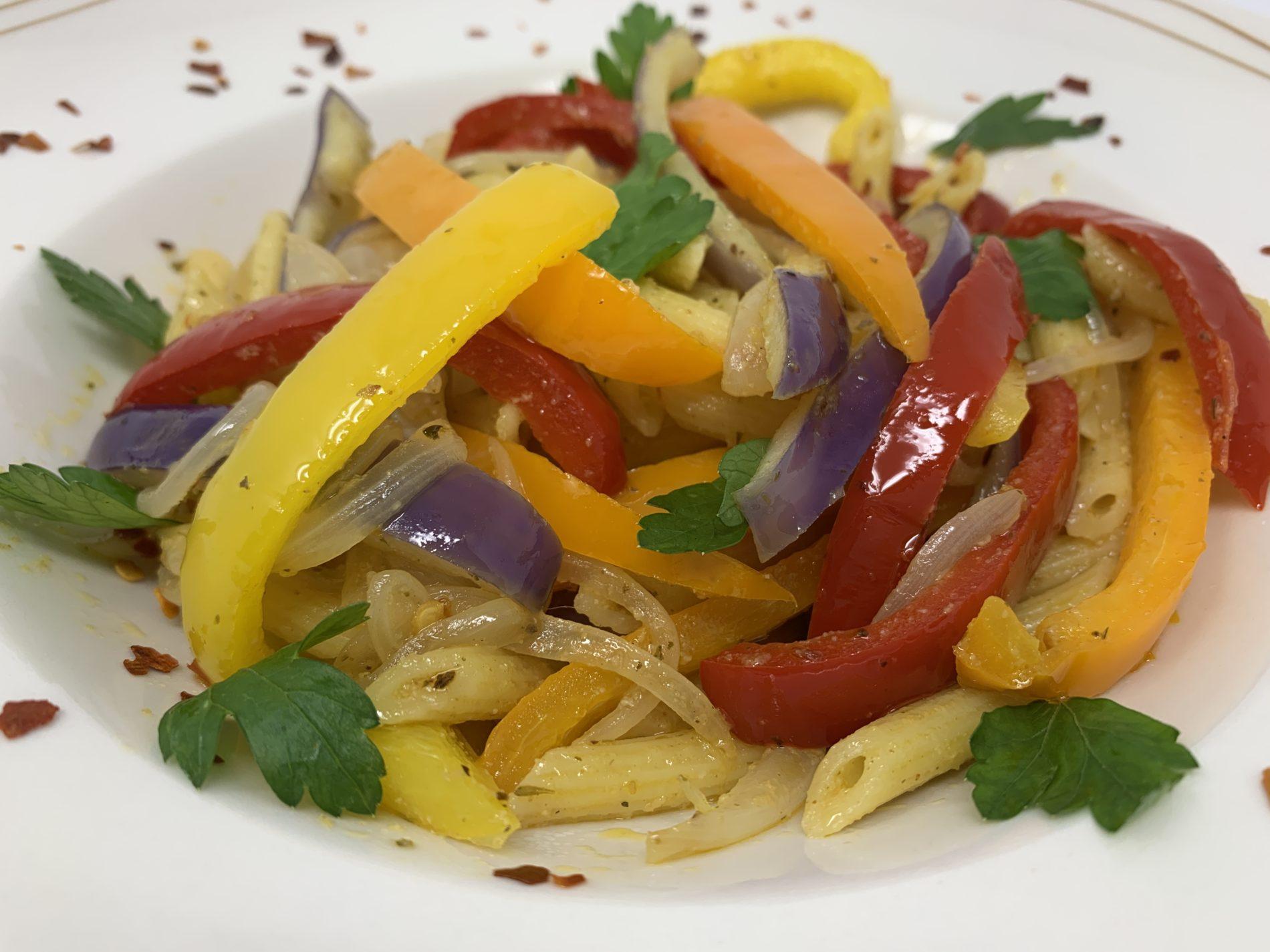 Chef Veera's easy peasy pasta