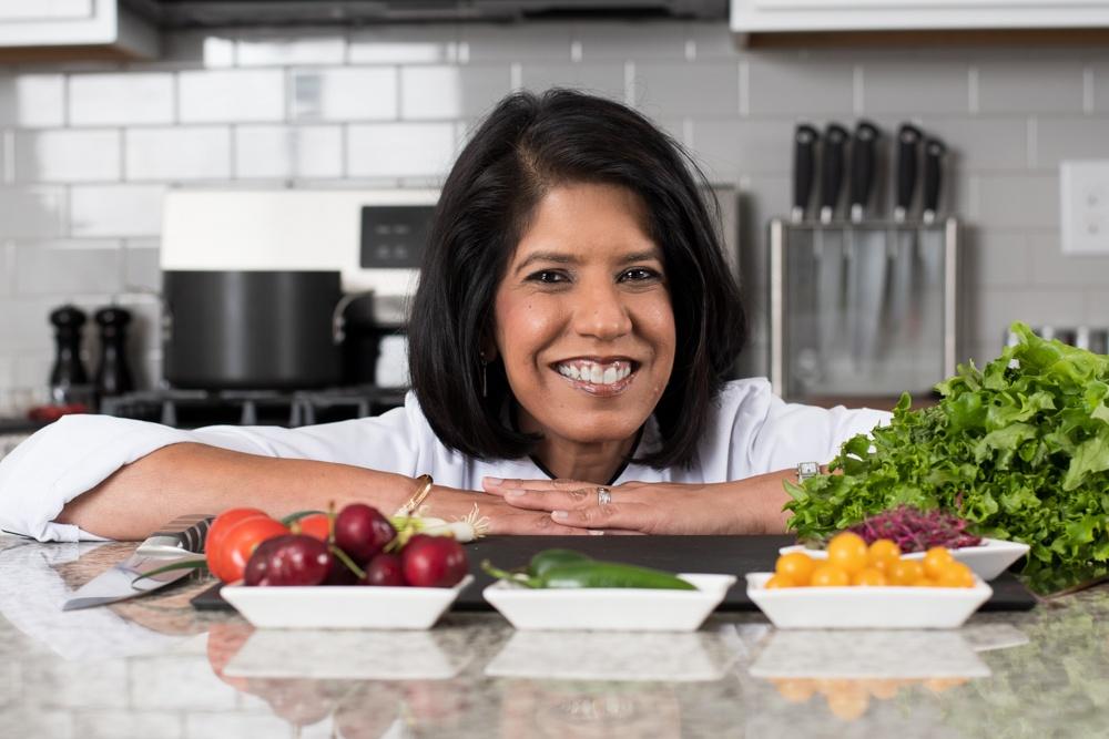 Chef Veera up close