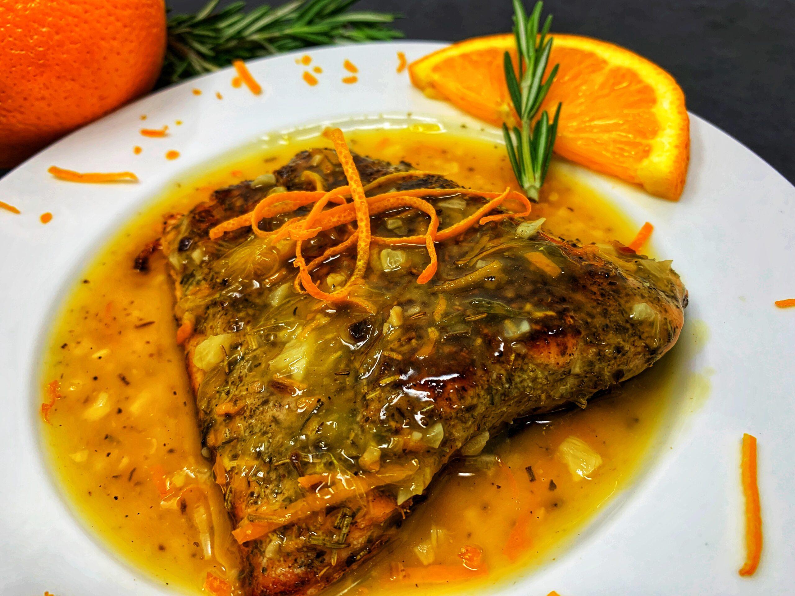 Orange Rosemary Salmon