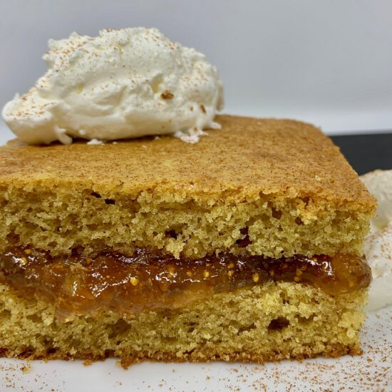 Orange spice cake
