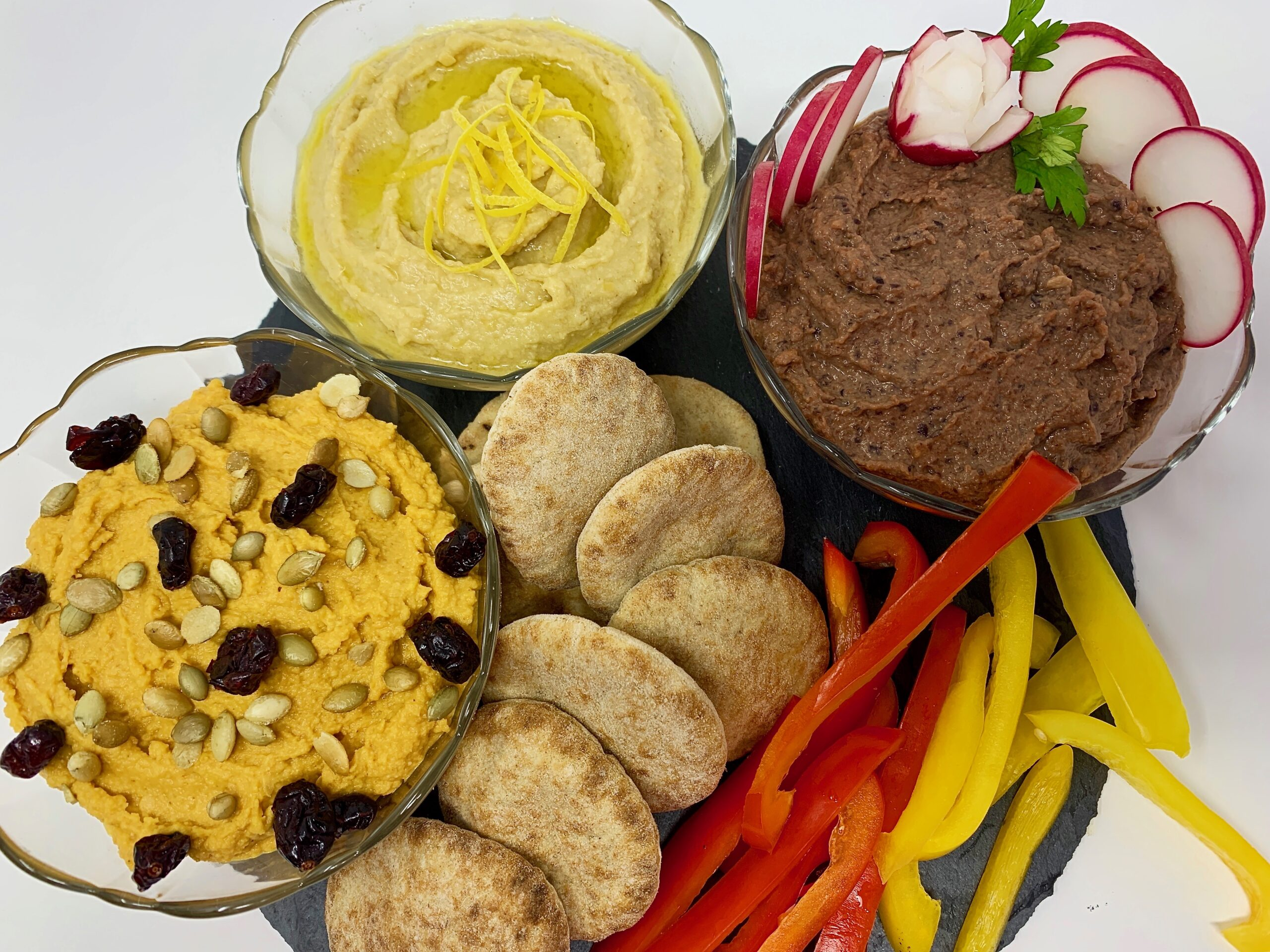 Beet Pumpkin Lemon Hummus