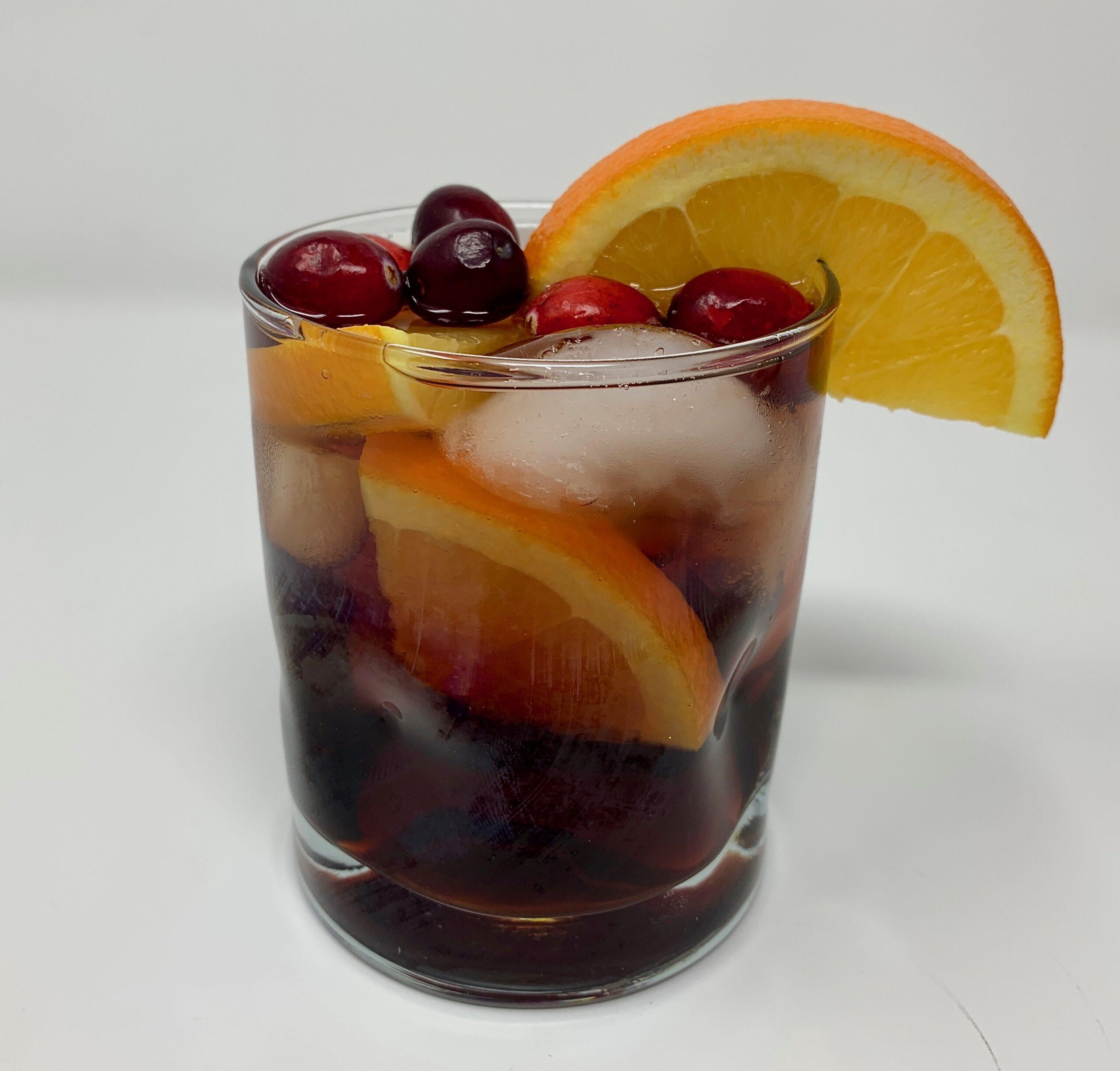 Cranberry Bourbon Cocktail