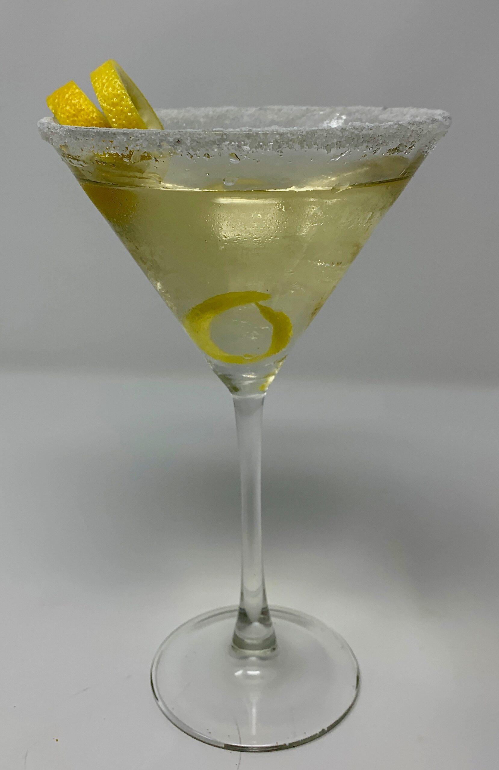 Limoncello Vodka Martini