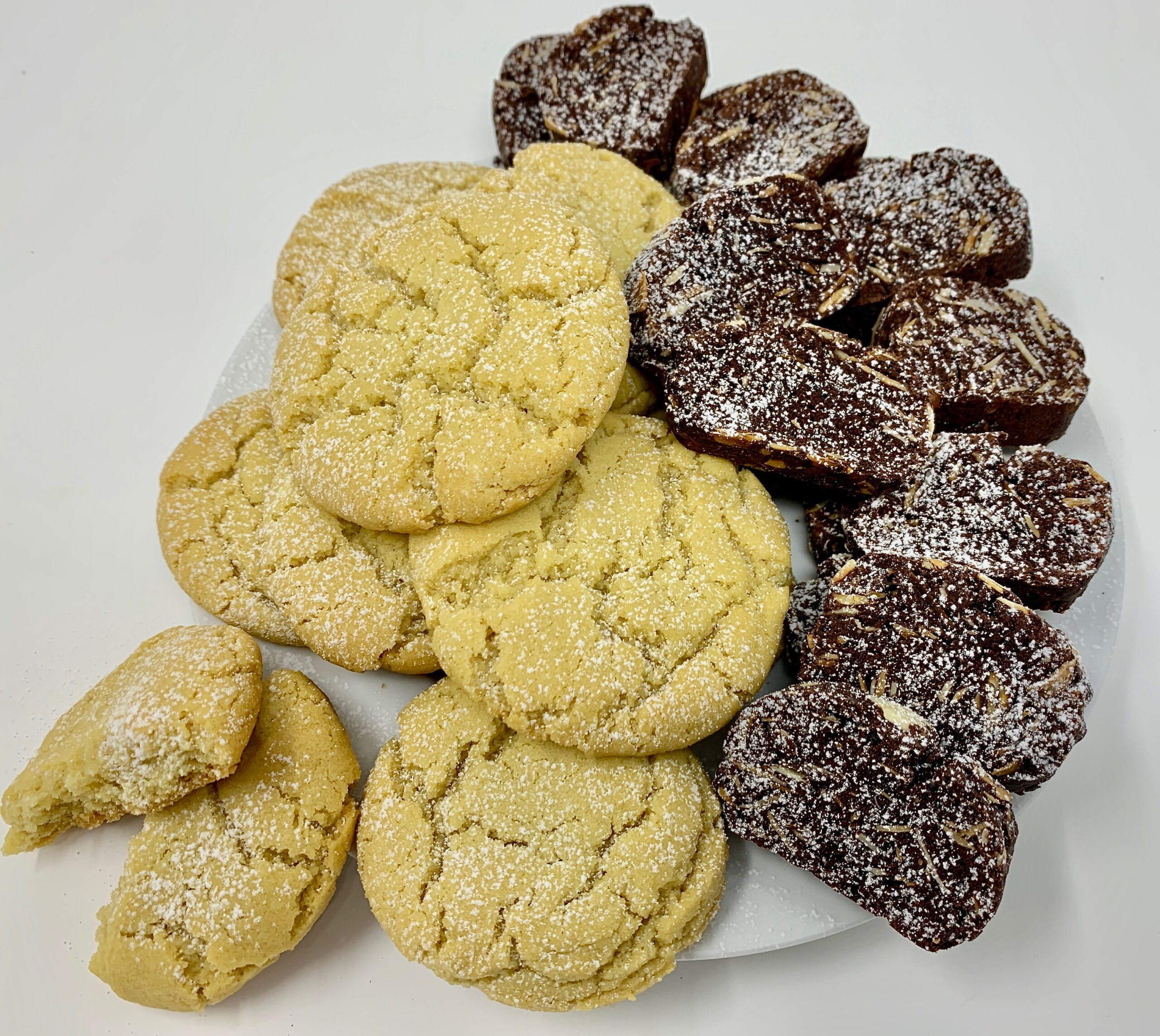 Vegan Cookies and Biscotti