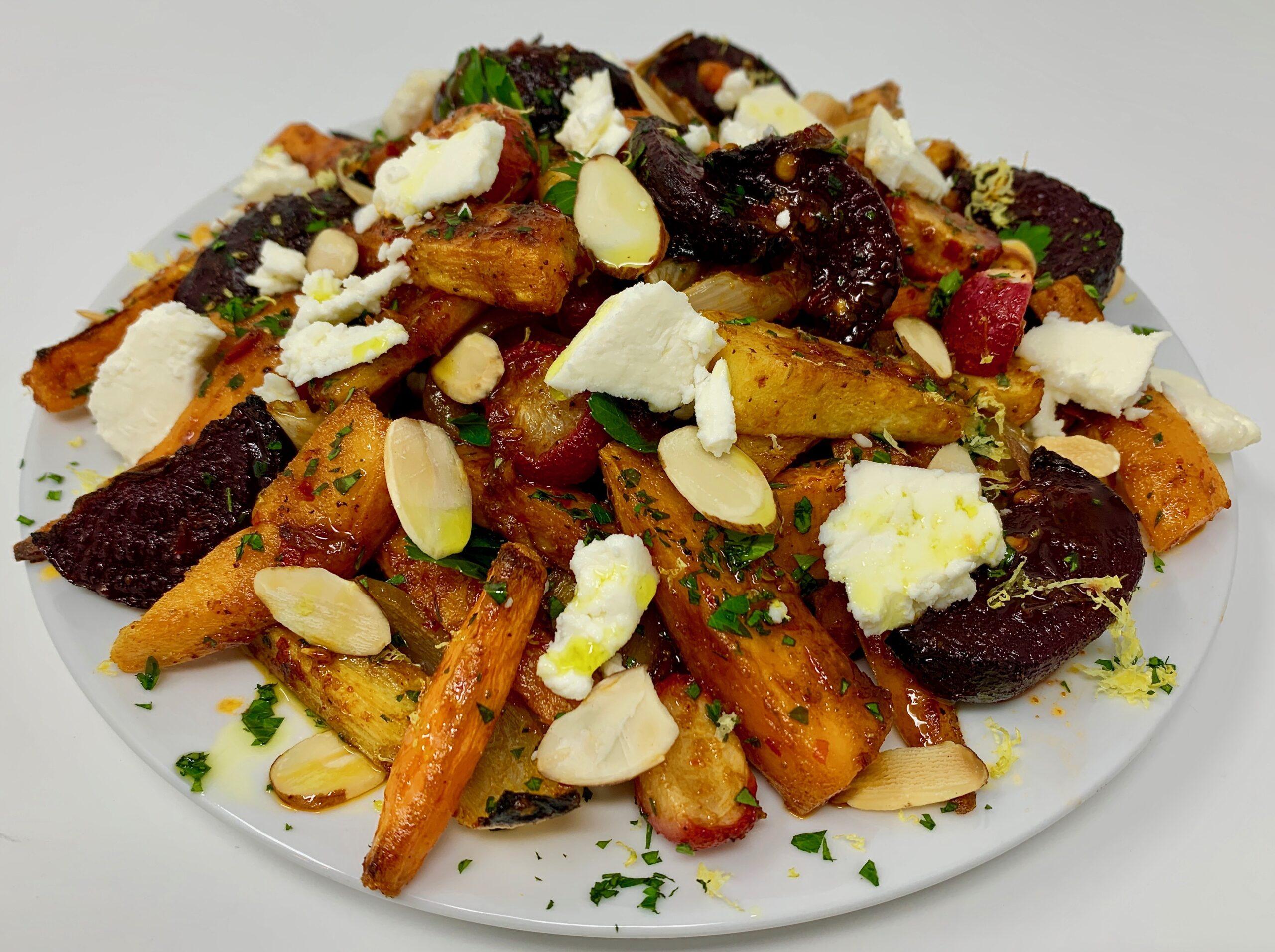 Roasted Root Veggie Salad
