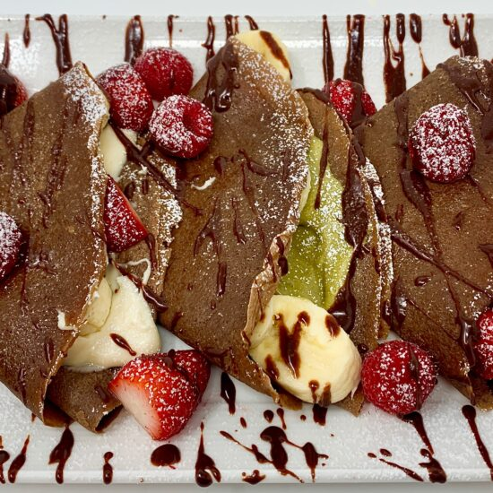 Sicilian Creme Chocolate Crepes