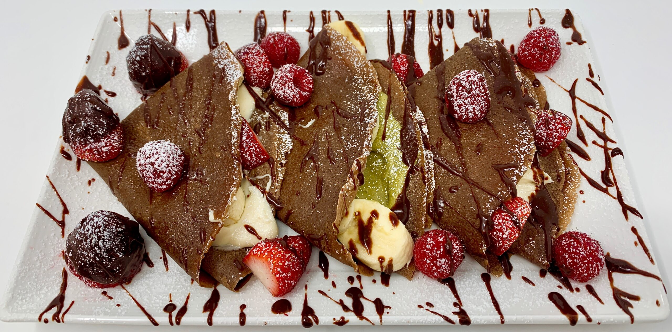 Sicilian Creme Chocolate Crepes