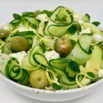 Green Greek Cucumber Salad