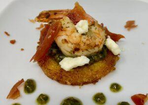 Polenta Appetizer Shrimp